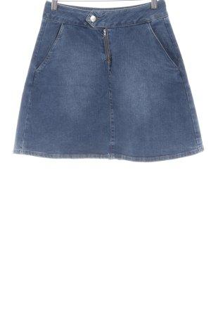 2nd One Gonna di jeans multicolore stile semplice