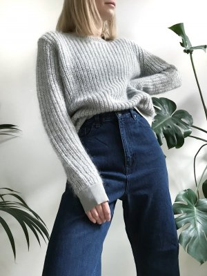 2NDDAY Milli Mohair Sweater in Light Gray