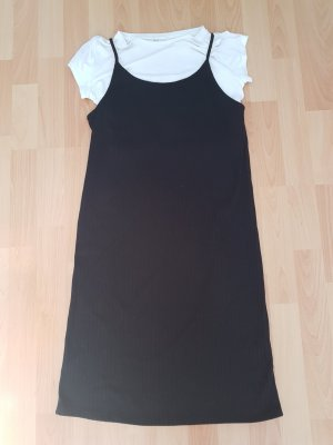 H&M Overgooier wit-zwart