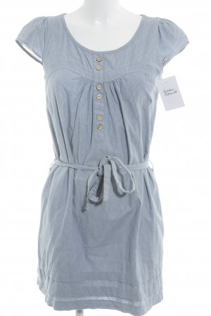 2Two Shortsleeve Dress blue-white striped pattern casual look