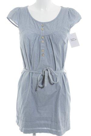 2Two Kurzarmkleid blau-weiß Streifenmuster Casual-Look