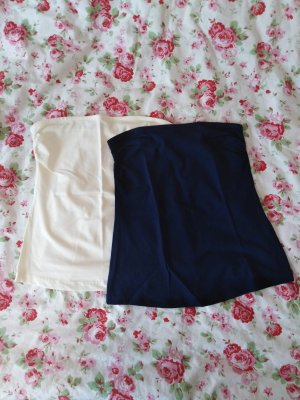 Esmara Bandeau Top cream-dark blue