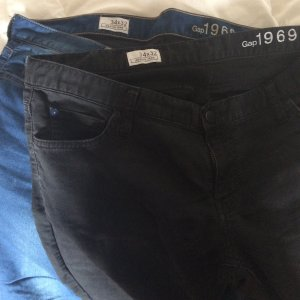 2x GAP Jeans 1969, Gr. 34/32 getragen