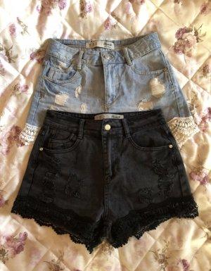 2x High Waist Shorts