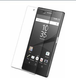 2x Panzerglas Glasfolie Sony Xperia Z5 Echt Glas Schutzfolie