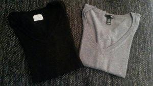 2x Pullover, Größe XS/ 34, H&M + Atmosphere