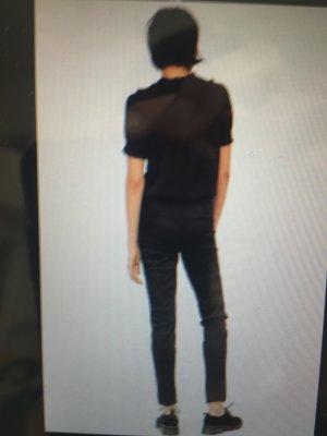 2x Slacks H&M dunkelblau und schwarz Gr. 36