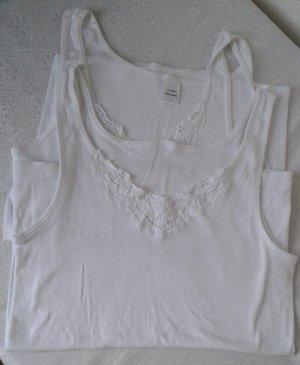 2x Unterhemd ,weiß, Gr.42