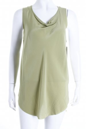 3.1 Phillip Lim ärmellose Bluse grasgrün schlichter Stil