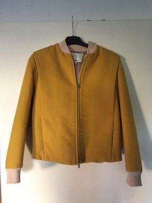 3.1 Phillip Lim Bomber Jacket gold orange-nude