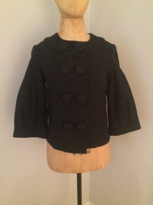 3.1 Phillip Lim Pea Jacket black wool