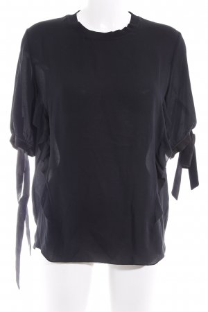 3.1 Phillip Lim Blouse à volants noir style simple