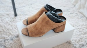 3.1 Phillip Lim Heel Pantolettes cognac-coloured