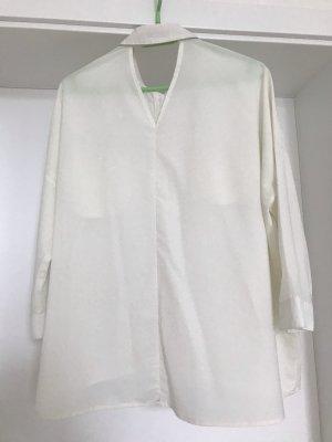 3/4 Ärmel Bluse in Weiß von 24colours, S (36)