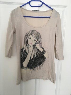 3/4-Ärmel Shirt in Größe M