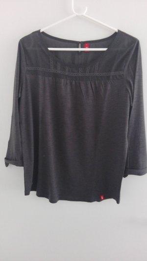 3/4-ärmeliges Shirt anthrazit