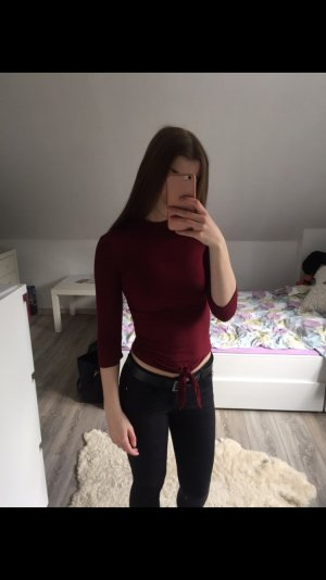 3/4 Ärmen Turtleneck Shirt