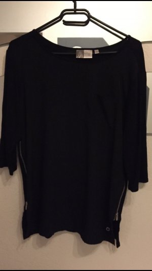 Blue Motion Shirt Tunic black