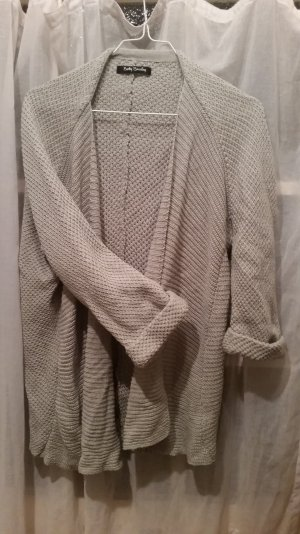 3/4 Arm Strickjacke in tollem grau