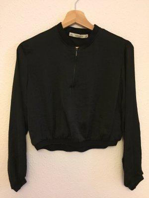 Zara Basic Blusa negro