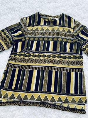 H&M Camicia a tunica giallo-cachi