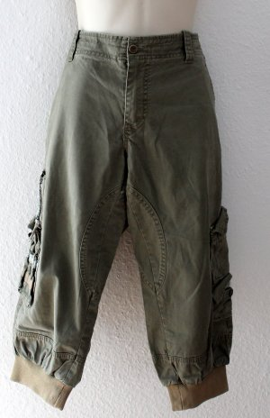 BlendShe Cargo Pants green grey cotton