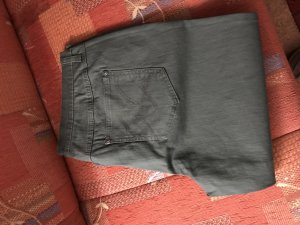 b.p.c. Bonprix Collection Pantalon 3/4 kaki coton
