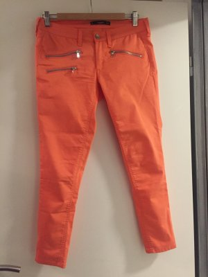 Mango 3/4 Length Trousers orange