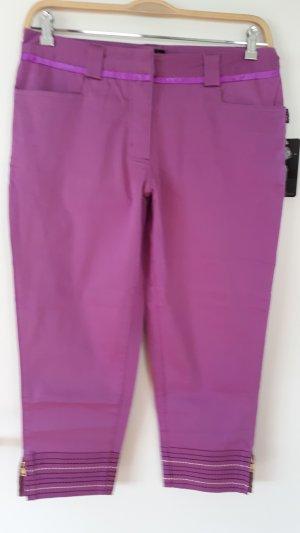 Pantalon 3/4 violet