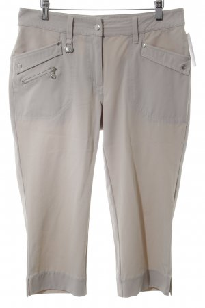 3/4 Length Trousers oatmeal casual look
