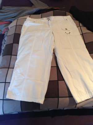 Street One Pantalón pirata blanco