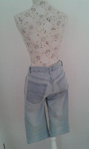 3/4 Hose Jeans, hellblau