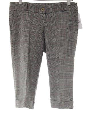 3/4-broek geruite print casual uitstraling