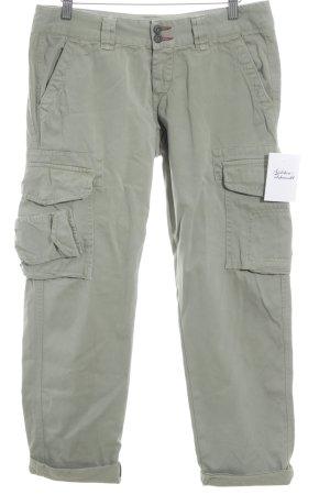 3/4-broek khaki casual uitstraling