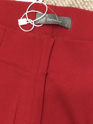 Friendtex Pantalone a 3/4 rosso-rosso scuro