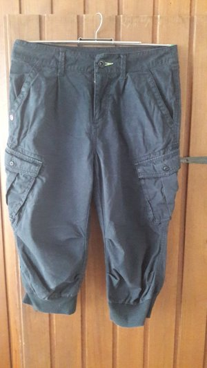 Adidas NEO Pantalón pirata negro Algodón