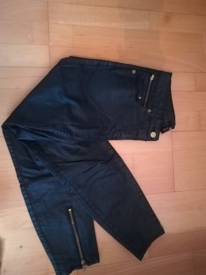 H&M 3/4 Length Trousers black