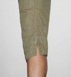 Mexx Pantalón de color caqui caqui