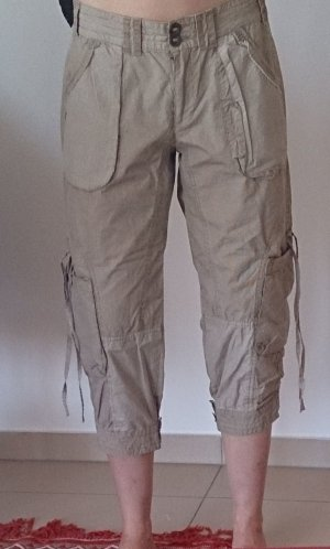 Not the same 3/4 Length Trousers white-sand brown