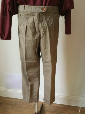 Sessun 3/4 Length Trousers sand brown