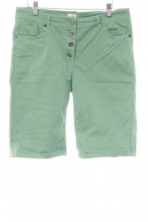 3/4 Length Trousers forest green simple style