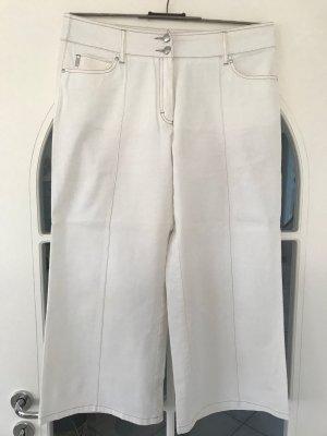 Pantalone a 3/4 crema