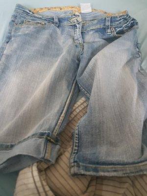 mister*lady Jeans a 3/4 bianco sporco