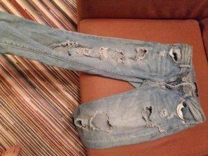 Tally Weijl Jeans a 3/4 blu fiordaliso Cotone