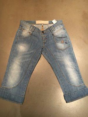 Freeman t. porter Jeans a 3/4 azzurro