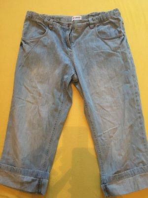 Reject 3/4-jeans azuur