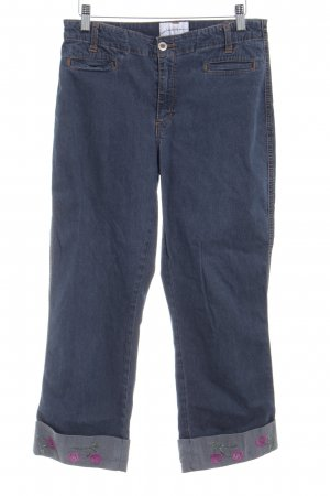 3/4 Jeans dunkelblau Casual-Look