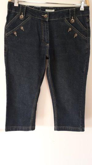 redgreen 3/4-jeans donkerblauw