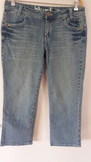 InScene 3/4-jeans lichtblauw