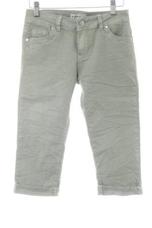 3/4 Jeans grüngrau Casual-Look